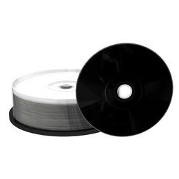 MediaRange CD-R 700MB/80min 52x, Black Inkjet Printable Cake 25
