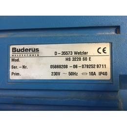 Õlikatel Buderus Ecomatic HS 3220 SO E (kasutatud)