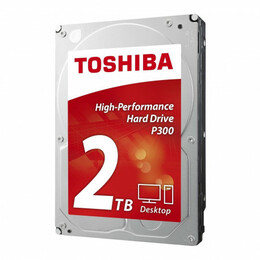 Toshiba  P300 HIGH-PERFORMANCE HD 2TB, 3.5IN SATA - BULK