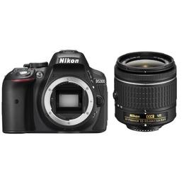 Nikon  D5300 AF-P 18-55mm VR Kit Black