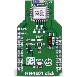 MikroElektronika MIKROELEKT RN4871 Click - Bluetooth LE 4.2 moodul (MIKROE-2544)