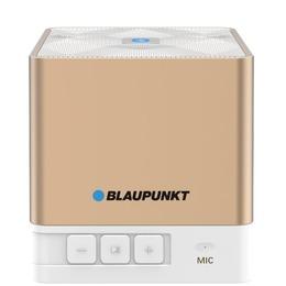 Blaupunkt Portable Bluetooth Speaker Bt02gold, Fm Pll Sd/usb/aux, Gold BT02GOLD