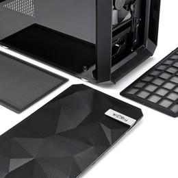 Fractal Design Meshify MINI C Blackout Tempered Glass