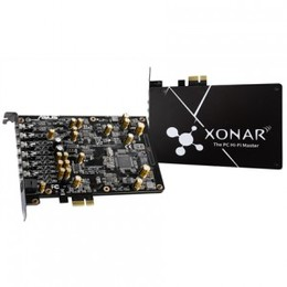Asus Xonar AE PCI Express, 7.1 channels