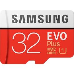 Samsung microSDHC Card 32GB, MICRO SDHC EVO PLUS, CLASS 10, mit ADAPTER