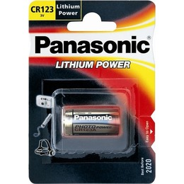 Panasonic Patarei CR123A/1B Lithium Power