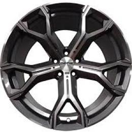 NANO BK5498 Grey Polish 5x112 R20 9 35 VALUVELG