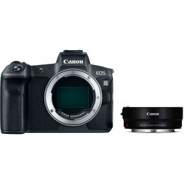 Canon EOS R Body + EF-EOS-R adapter