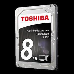 "Toshiba X300, 3.5"", 8TB, SATA/600, 7200RPM, 128MB cache"