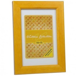 Victoria Collection  Pildiraam Natura 10x15, Yellow