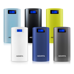 ADATA P20000D Power Bank, 20000mAh, LED flashlight, blue (AP20000D-DGT-5V-CBL)