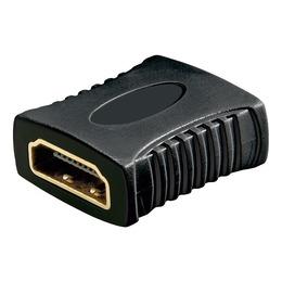 Goobay Adapter HDMI (F) - (F), kullatud kontaktid