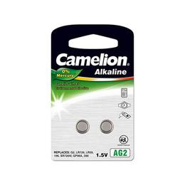 Camelion Patarei Alkaline Button celles LR726 2-pack