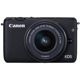 Canon  EOS M10 + 15-45mm IS STM Kit Black