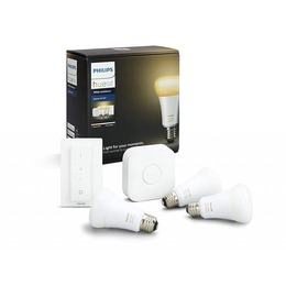 Philips E27 Hue White Starter Kit 3-pack