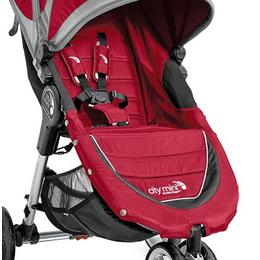 Baby Jogger istmekate koos polstriga City Mini GT, Crimson/Gray