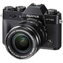 Fujifilm X-T20 + 18-55mm Kit Black