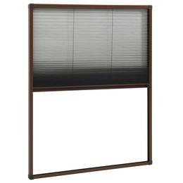 vidaXL plisseeritud putukavõrk aknale, alumiinium, pruun 60 x 80 cm 148653