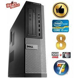 Dell 790 DT i5-2500 8GB 480SSD+500GB DVDRW WIN7Pro