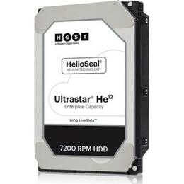 Hitachi  HGST Ultrastar HE12 HUH721212ALE604 - Hard disk - 12TB - intern - 8.9 cm (3.5) - SATA 6Gb/s - 7200 U/min - Puffer: 256MB (0F30146)