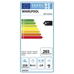 Whirlpool  WFC 3C26 X