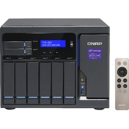 QNAP DiskStation TVS-882-I3-8G 8 BAY 3.7 GHZ DC