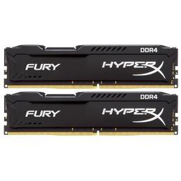 Kingston DDR4 HyperX Fury 16GB (2x8GB) 3200MHz CL18 Black
