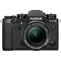 Fujifilm X-T3 + 18-55mm Kit Black
