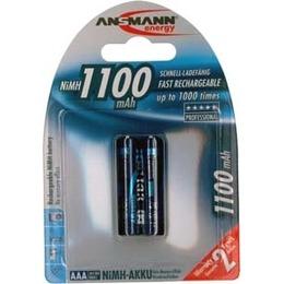 Ansmann Aku 1x2 NiMH rech. battery 1100 Micro AAA 1050 mAh
