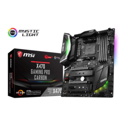 MSI Socket AM4 X470 GAMING PRO CARBON