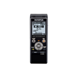 Olympus  WS-853 Digital Voice Recorder with MP3 Player, 8GB internal memo, inc. Rechargeable Ni-MH Batteries and Case, Black