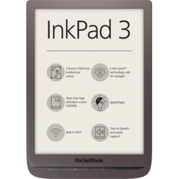 "PocketBook E-Reader InkPad 3 7.8""  Dark Brown"