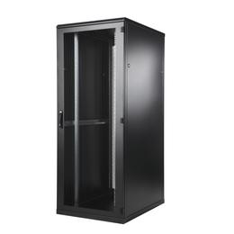 BKT Seadmekapp 42U 1980x800x1200 k,l,s, perforeeritud uksed, kandevõime kuni 1000kg, must, TOP II