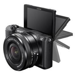 Sony  a5100 + 16-50mm + 55-210mm Kit Black