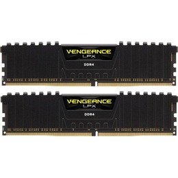 Corsair DDR4 PC4-25600 3200MHz 16GB CL16 (16-18-18-36)(Kit of 2) Vengeance LPX Red