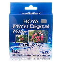 Hoya makrolääts +3 Pro1 Digital 52mm