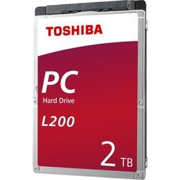 """Toshiba L200 2,5"""" 2TB SATA 5400RPM 8MB"""