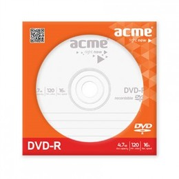 Acme DVD-R 120min/4,7 GB 16X Paper sleeve