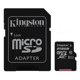 Kingston microSDXC 256GB Canvas Select CL10 UHS-I