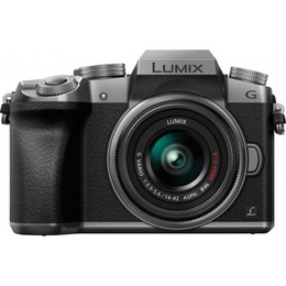 Panasonic  Lumix DMC-G7 + 14-42mm Kit, Silver
