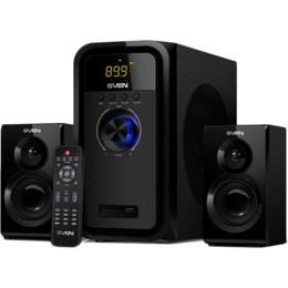 SVEN MS-2051, black (55W, FM, USB/SD, Display, RC, Bluetooth)