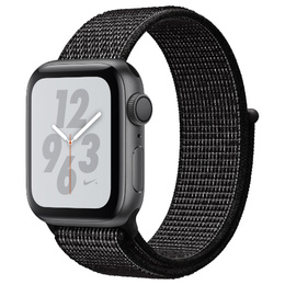 Apple Watch Series 4 Nike+ GPS 40mm Space Gray Aluminum Case with Black Nike Sport Loop