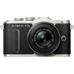 Olympus  PEN Lite E-PL8 + 14-42mm EZ Kit Black