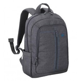 RivaCase NB BACKPACK CANVAS 15.6'/7560 GREY