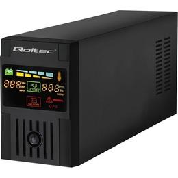 Qoltec Emergency power supply UPS MONOLITH | 800VA | 480W | LCD | USB (53952)