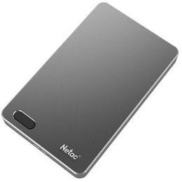 Netac External HDD NETAC NT05K391F-002T-30GR 2TB USB 3.0 Buffer memory size 8 MB Colour Iron NT05K391F-002T-30GR