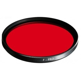 B+W  filter F-Pro 090 MRC Red 58mm