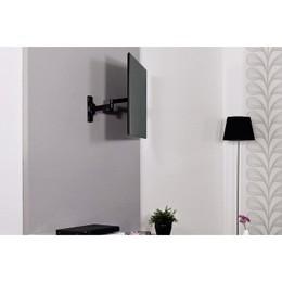 "Hama teleri kinnitus Ultraslim Fullmotion TV Wall Bracket 5 stars XS 26"" 2 arms Black (108723)"