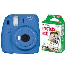 Fujifilm  Instax Mini 9 + Instax mini glossy (2x10) Cobalt Blue