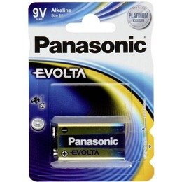 Panasonic  EVOLTA Alkaline 9V (6LR61EGE), 1-pack